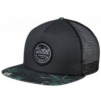 Globe Expedition Snap Back - Hibiscus