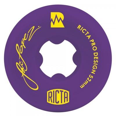 Ricta NRG Louie Lopez Pro Skateboard Wheels - Purple 52mm