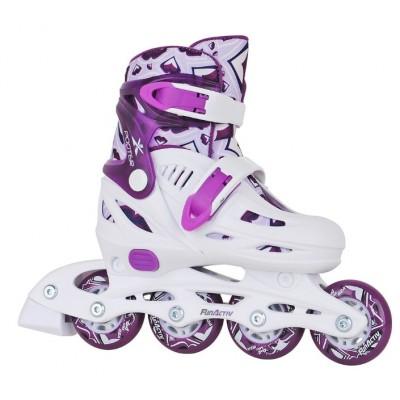 Fun Activ Girls Adjustable Inline Skates - purple