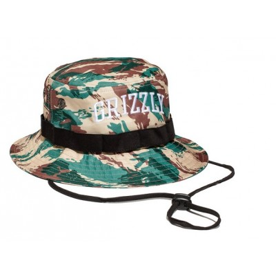Grizzly Nortwest Safari Hat Camo