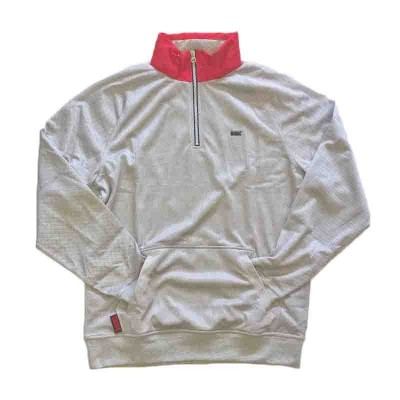 DGK Flight Half Zip Pullover Heather