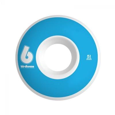 Birdhouse Wheels B Logo 51mm - Blue