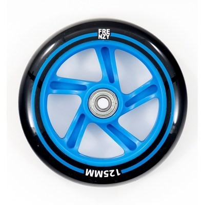 Frenzy Scooter Wheel Blue