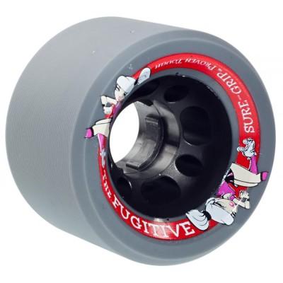 Suregrip Fugitive Pusher Quad Wheels Grey 89A