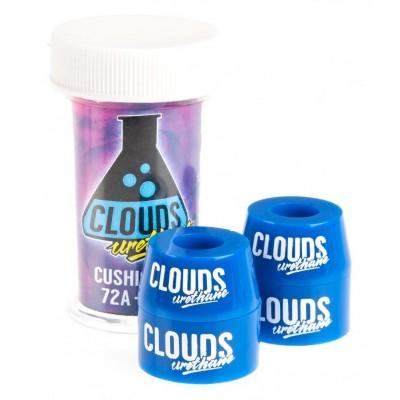 Clouds Urethane Bushings 72A Cushion Kit - Blue