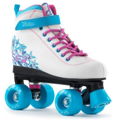 SFR Vision II Quad Roller Skates - White/Blue