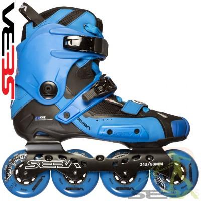 Seba '14 HIGH Light InLine Skates - Blue/Blue