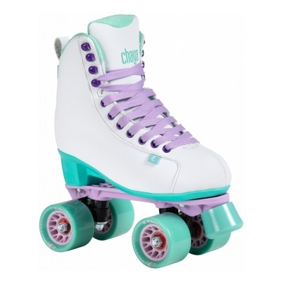Chaya Lifestyle Melrose White Teal Roller skates