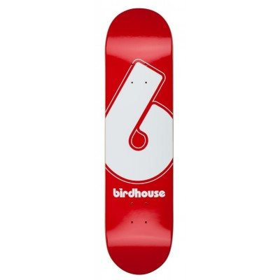 Birdhouse Giant B Logo Skateboard Deck Red - 8""