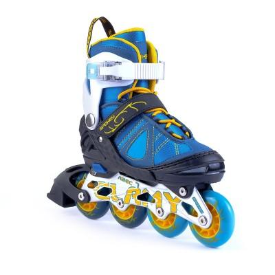 Spokey Inline Skates - Blue/Yellow