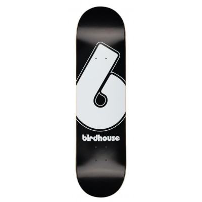 Birdhouse Giant B Logo Skateboard Deck - Black 8.25""