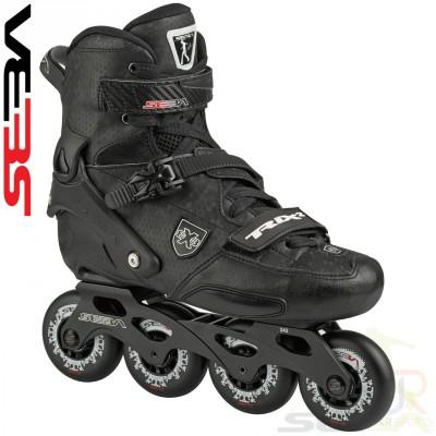 Seba Trix 2 Inline Skates - Black/Black