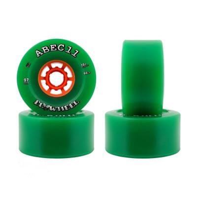ABEC 11 Flywheel Wheels - Green 97mm