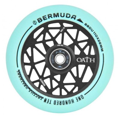 Oath Bermuda Scooter Wheel - Black/Teal