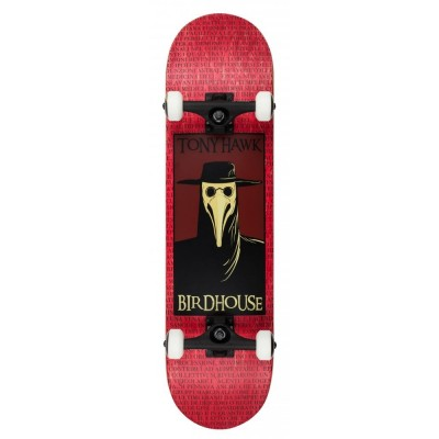 Birdhouse Stage 3 Plague Doctor Complete Skateboard - 8""