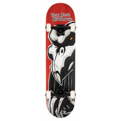 """Birdhouse Stage 3 Falcon 2 Complete Skateboard - Red 8"""""""