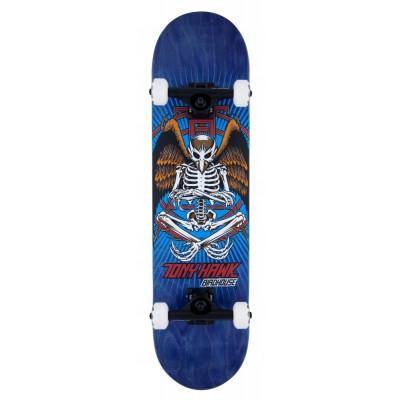 "Birdhouse Stage 3 Hawk Birdman Complete Skateboard - Blue  8"""