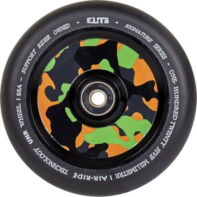 Elite Air Ride Camo Pro Scooter Wheels 125mm - Black