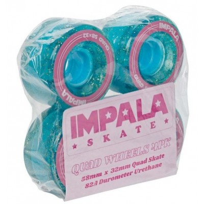 Impala Replacement Skate Wheels 4pk - Holographic Glitter