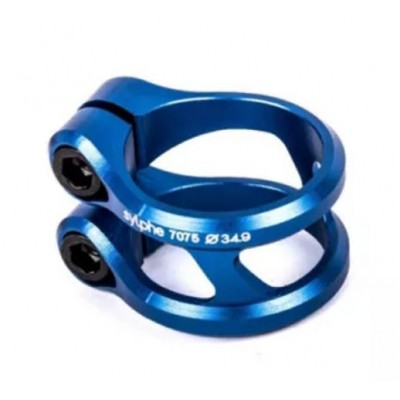 Ethic DTC Sylphe Double Clamp - Blue