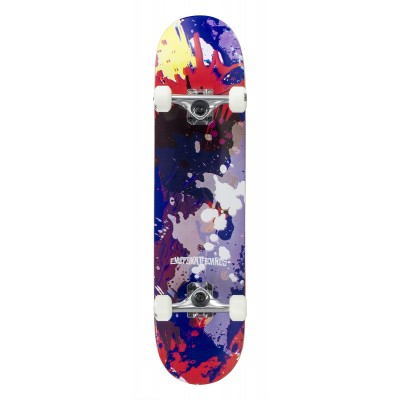 Enuff Splat Complete Skateboard - Red/Blue 7.75""