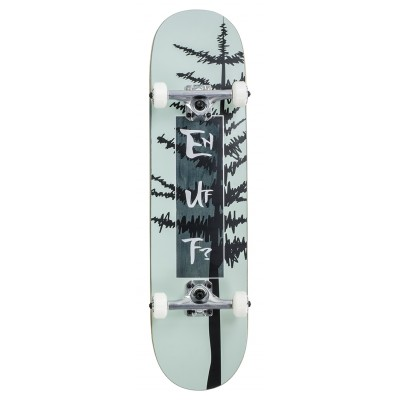 "Enuff Evergreen Tree Complete Skateboard - Sage/Grey 8"""