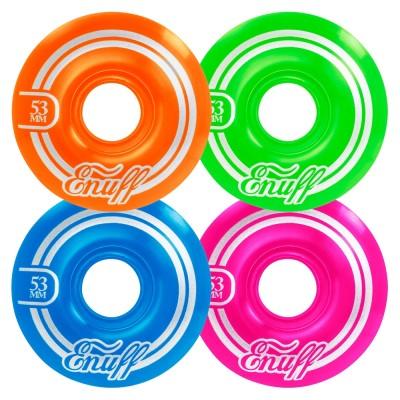 Enuff Refresher II Skateboard Wheels 53mm Disco