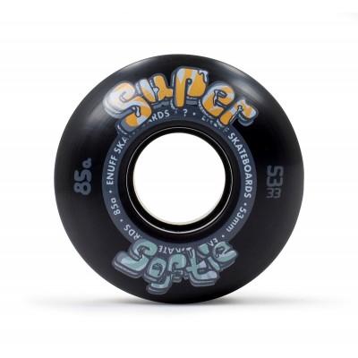 Enuff Super Softie Skateboard Wheels 53mm  - Black