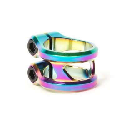 Ethic DTC Sylphe Double Clamp - Rainbow