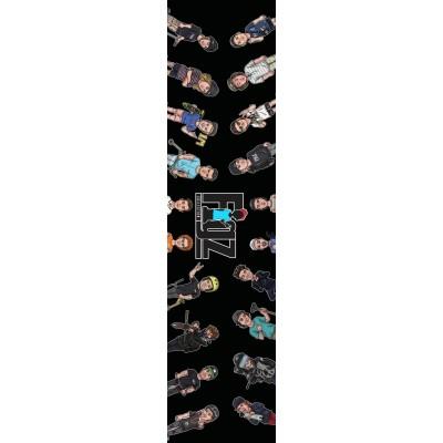 Figz XL Pro Scooter Grip Tape - Multi V2
