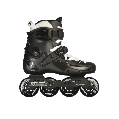 FR Skates FR1 80 Inline Skates - Black (UK 11)