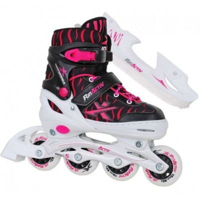FunActiv Albis Duo Adjustable Girl Inline / Ice Skates