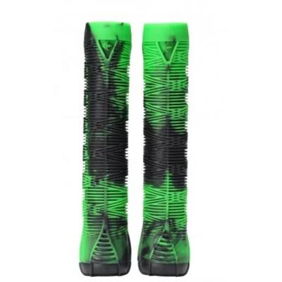 Blunt V2 Scooter Grips - Green/Black