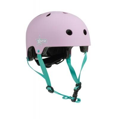 SFR Adjustable Kids Helmet - Pink / Green