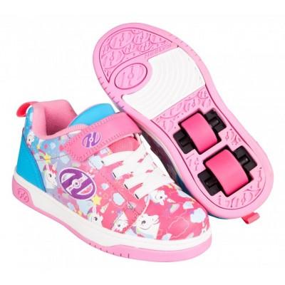 Heelys Dual Up X2 (HE100833) - Neon Pink/Cyan/Purple Unicorn