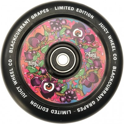 Juicy Co. Scooter Wheels - Blackcurrant Grape 110mm