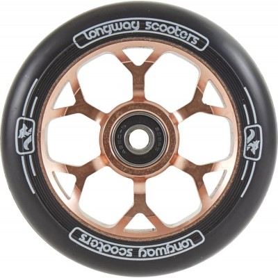 Longway Precinct 110mm Pro Scooter Wheels - Rose Gold