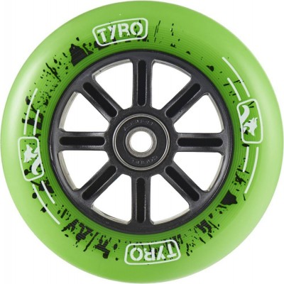 Longway Tyro Nylon Core Pro 100mm Scooter Wheels - Green
