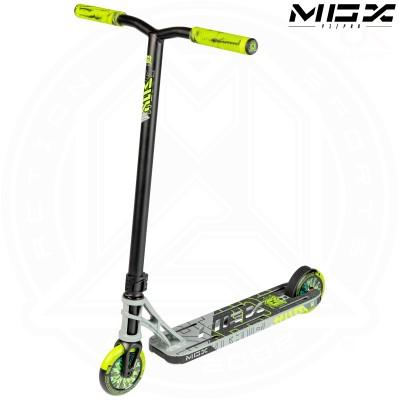 "MGP MGX P1 - PRO 4.5"" Scooter - Grey/Lime"