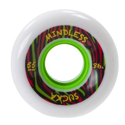 Mindless Sucka Skateboard Wheels - White