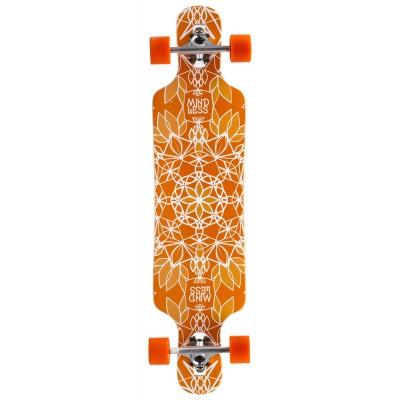 Mindless Sanke III Complete Longboard - Orange