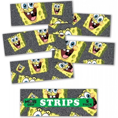 MOB Spongebob Squarepant Head Grip Strips (5 Pack)