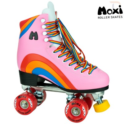Moxi Rainbow Skates - Bubble Gum Pink