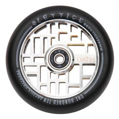 Oath Lattice Scooter Wheels - Neo Silver 110mm
