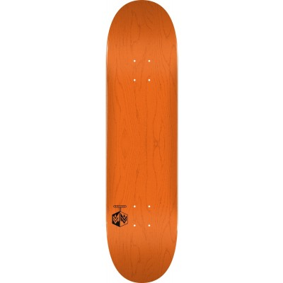 "Mini Logo Chevron Detonator Skateboard  Deck 8"" - Orange"