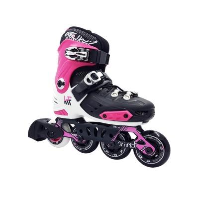 KRF Freeskate Inline Skates - Black/Pink