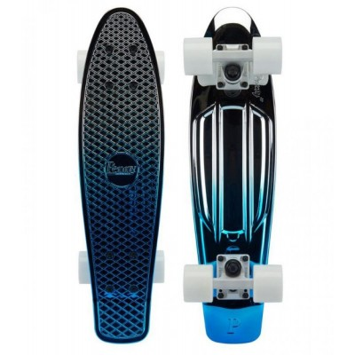 Penny Cruiser - Blue Silver Metallic Fade Blue 22""