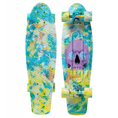 Penny Cruiser - Skull Splatter Ltd 27""