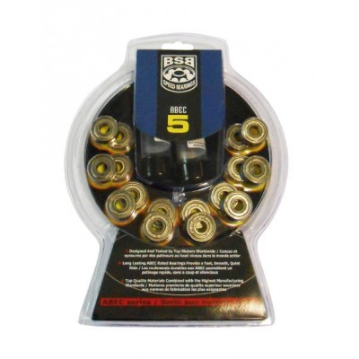 BSB Abec 5 Speed Bearings (16 pack)