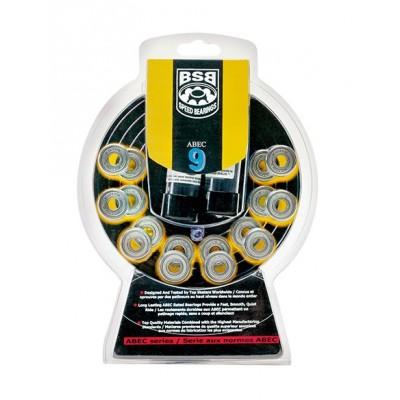 BSB Abec 9 Speed Bearings (16 pack)
